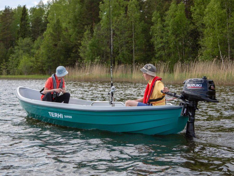 Terhi Saiman Verde soutuvene Hämeenlinnan Maatalous ja Kone