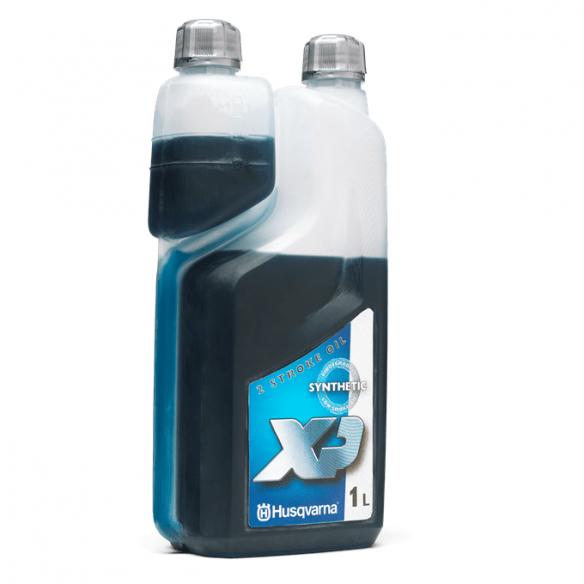 Husqvarna 2T-öljy XP Synteettinen, 1 l annostuspullo