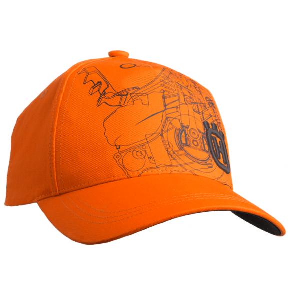 Husqvarna Xplorer-lippalakki, oranssi pioneerisaha