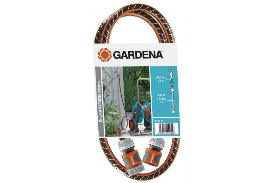 Gardena liitäntäletku keloihin ja vaunuihin