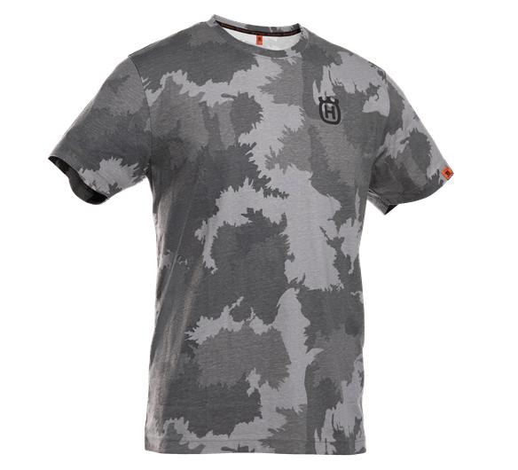 Husqvarna t-paita lyhythihainen metsä-camo